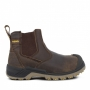 Rebel Crazy Horse Safety Boot Brown