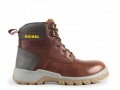 Rebel Havoc Safety Boots (Brown)