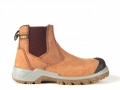 Rebel Crazy Horse Safety Boot Tan