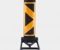 1823 - Delineator Black & Yellow Econo Base