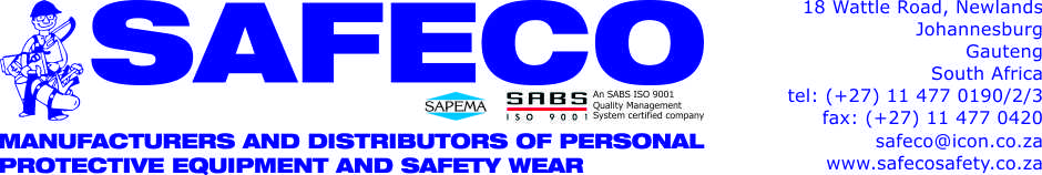 Safety shoes - Safeco